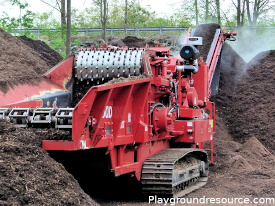 How is Playground Mulch Made – EWF Mulch Explained